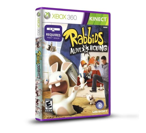 Rabbids Alive & Kicking - Xbox 360