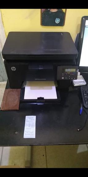 Impressora Hp M176 Color Laser -pouco Uso