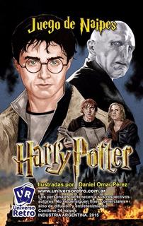Harry Potter Juego Cartas Tope Quartet Universo Retro