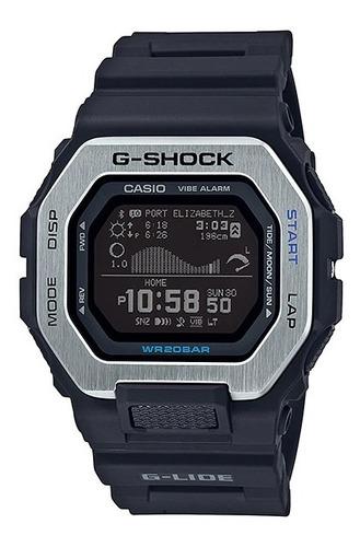 Imagen 1 de 2 de Reloj Casio G-shock Gbx-100-1d G-lide Bluetooth Mareas Pasos