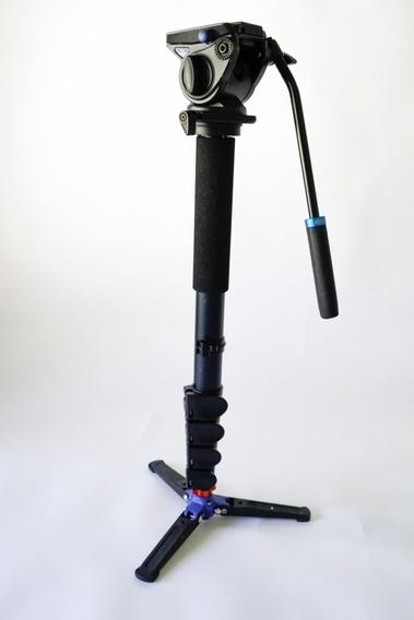 Monopé Benro Com Cabeça Semi-hidráulica S4