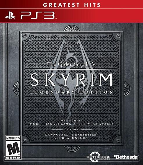 The Elder Scrolls V Skyrim Legendary Edition Ps3 Lacrado