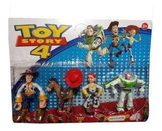 Muñecos X 4 De Toy Story 4 En Blister - La Lucila