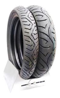 Par Pneu Cb300 Twister Cb300r Traseiro + Dianteiro 0123a