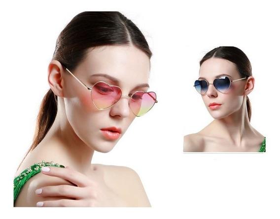 Gafas De Sol Mujer En Forma De Corazon Uv400
