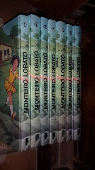 Coleção Infantil Monteiro Lobato ( 7 Volumes) Excelente Neb