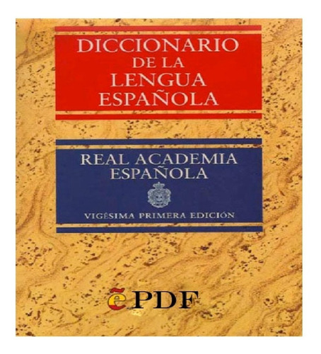 Diccionario De La Real Academia Española