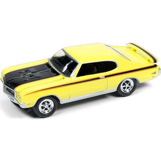 Johnny Lightning Muscle Cars R1a 1971 Buick Gsx Amarelo