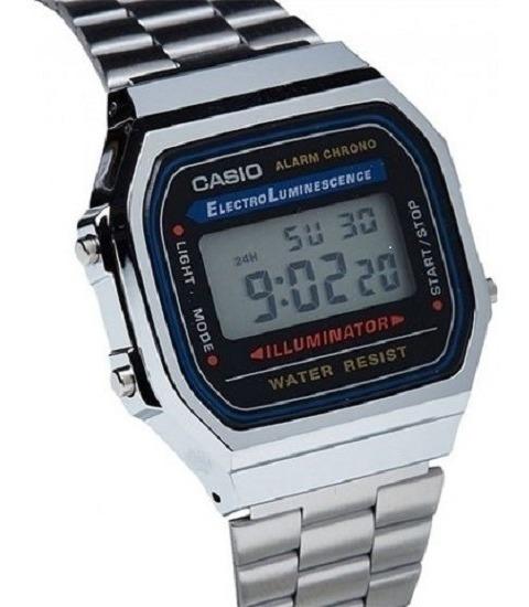 Relógio Casio Digital Esportivo A158wa-1df Original Promoção