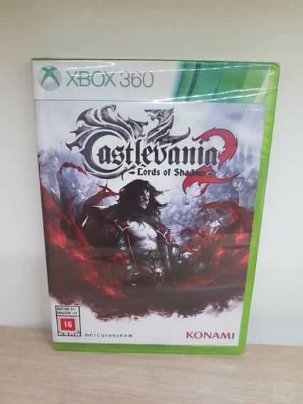 Castlevania Lords Of Shadow 2 Xbox 360 Novo Lacrado Física