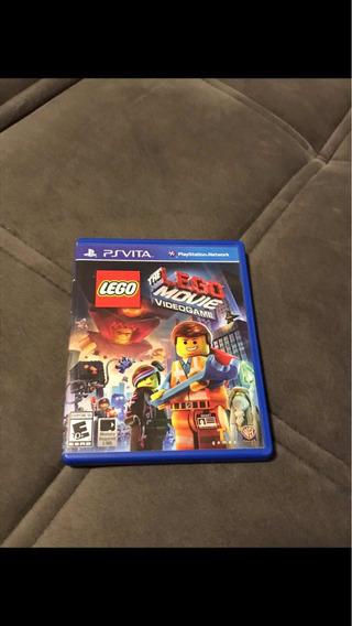 Jogo Ps Vita Lego Movie Mídia Física