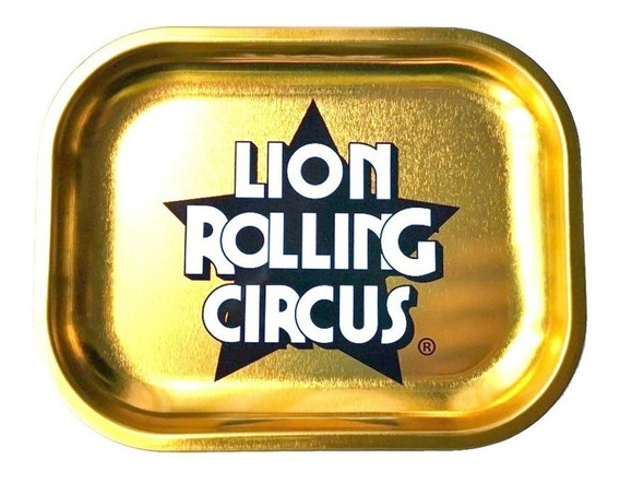 Bandeja De Armado Mini Gold Edition / Lion Rolling Circus