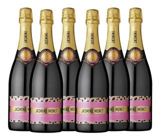 Champagne Jasmine Monet - Pink Rosé (caja X 6)