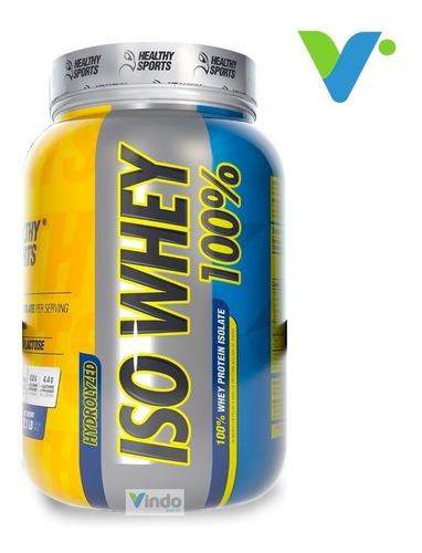 Iso Whey 2lbs Healthy Sports Proteina Limpia Hidrolizada