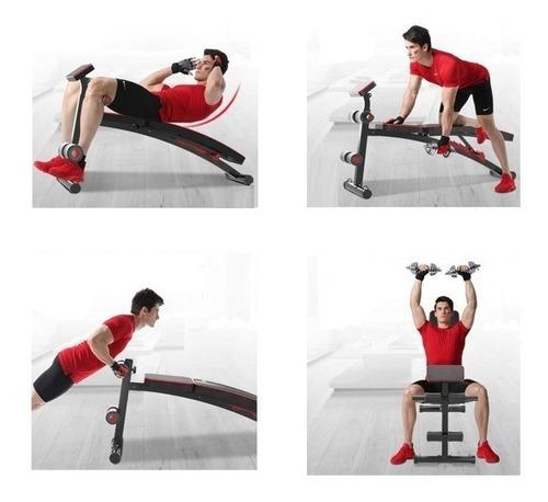 Máquina Multifuncional Banco De Pesas Banca Libre Gym
