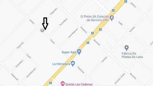 Terreno Y Casa Ideal Galpon Deposito Libertad Merlo Bsas