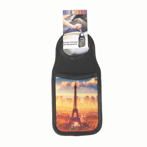 Imagen 1 de 4 de Porta Celular Neopren Paris