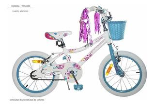 Bicicletas Rod. 15 Nena Full Alumunio