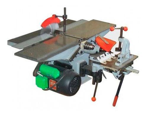 Máquina Combinada Carpintería 1.5 Hp 5 Funciones Mesa 200 Mm