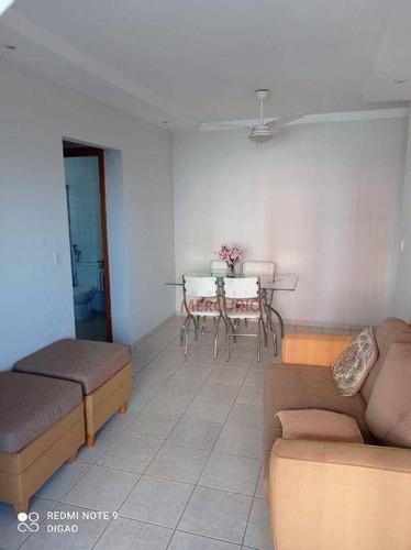 Apartamento Com 2 Dormitórios Para Alugar, 70 M² Por R$ 1.450,00/mês - Jardim Infante Dom Henrique - Bauru/sp - Ap3809