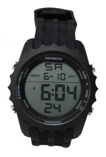 Kit 5 Relogio Potenzia Original Cronometro Militar