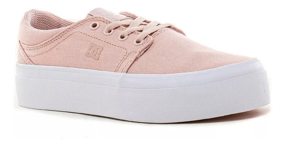 Dc Zapatillas Lifestyle Mujer Trase Platform Tx Rosa Fkr