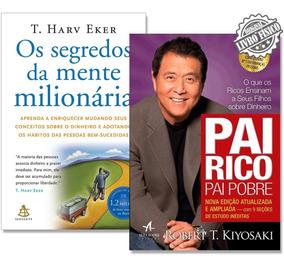 Kit Os Segredos Da Mente Milionária + Pai Rico, Pai Pobre