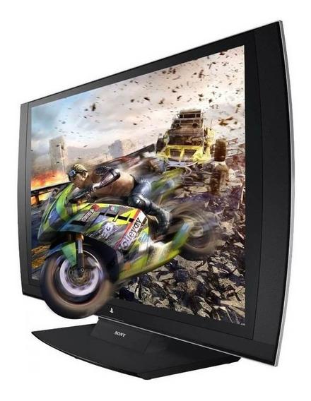 Monitor Playstation3 Sony 3d Display 24+ 2 Óculos Semi Novo