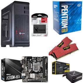 Pc Hunter Pentium G5400 Mb H310m Hg4 Vg 16gb Vs400 Ssd 120gb