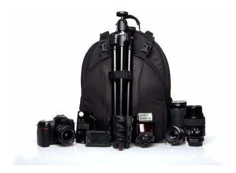 Mochila Fotografica P/ Câmera Canon Nikon Sony Acessórios Vm