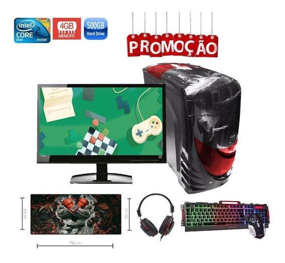 Pc Gamer Completo Aires Hd 6450 2gb 4gb Hd 500gb
