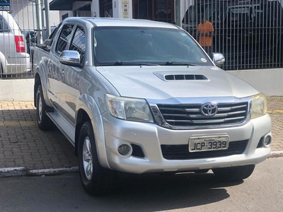 Hilux Cabine Dupla 3.0 4x4 Srv Diesel Automatica