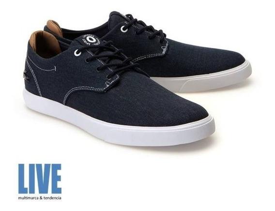 Zapatillas Lacoste Esparre Azul Nt9 Original Hombre