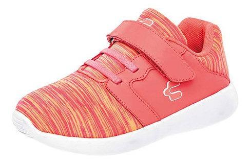 Charly Sneaker Casual Sintético Niña Coral Bta93496