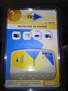 Protector De Voltaje 120v Marca Rayo