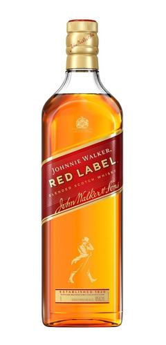 Whisky Escocés Johnnie Walker Rojo (1-litro) 100 % Original