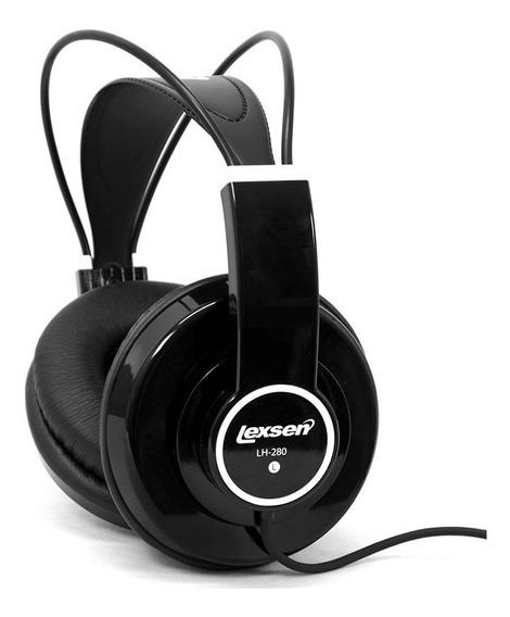 Fone De Ouvido Headphone Monitor Profissional Dj Lexsen