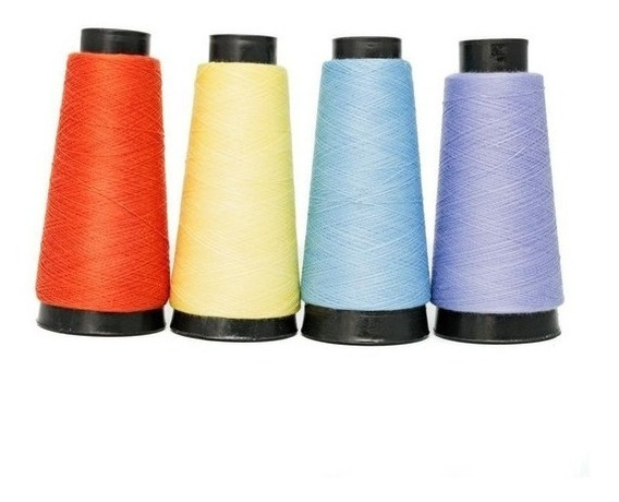 Cono de presupuesto 75s poliéster hilo de coser-cada uno B500075-M