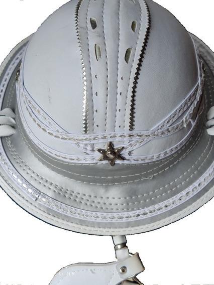 Chapéu De Couro Rei Do Baião Alto Acabamento (luxo)
