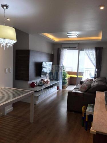 Apartamento Com 3 Dormitórios À Venda, 81 M² Por R$ 640.000,00 - Vila Isa - São Paulo/sp - Ap3788
