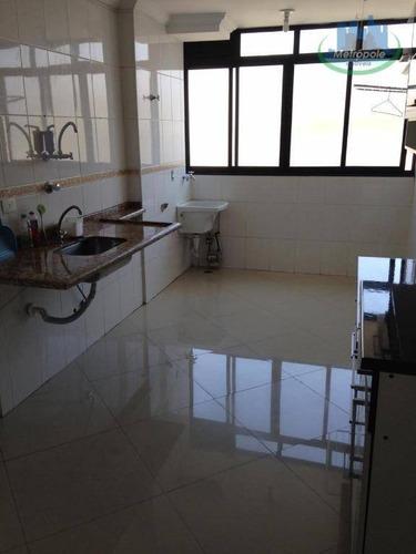 Apartamento Com 2 Dormitórios À Venda, 65 M² Por R$ 220.000,00 - Macedo - Guarulhos/sp - Ap1016