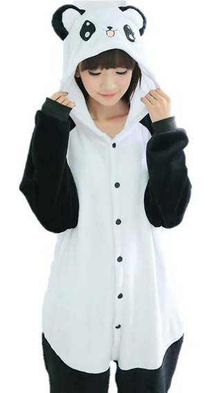 Kigurumi Panda Kawaii Pijama Mamelucos Para Adultos Pikachu
