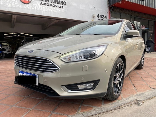 Ford Focus Iii 2.0 Titanium Mt 2018 Impecable 19.000 Kms