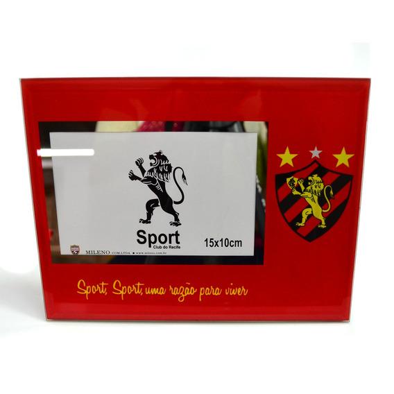 Porta Retrato De Vidro 1 Foto 10x15cm - Sport Club