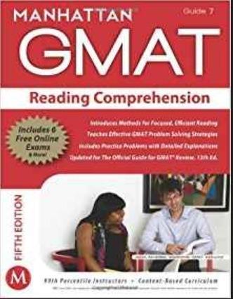 Manhattan Gmat Reading Comprehension 5th