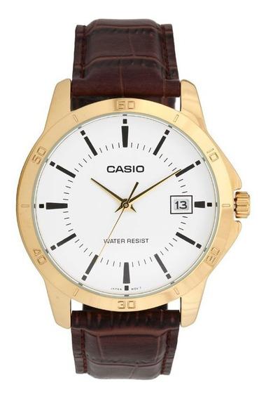Relógio Casio Masculino Mtp-v004gl-7audf C/ Garantia E Nf