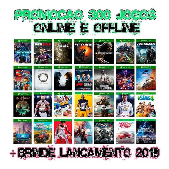 Promoção 300 Jogos Xbox One Digital + Brinde Lançamento 2019