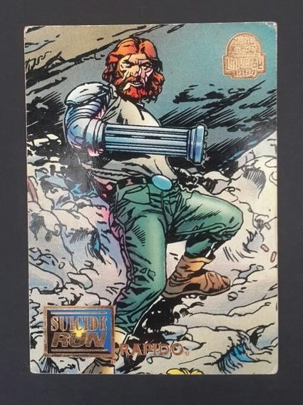 Trading Card Suicide Run Marvel Universe 1994 Los Germanes