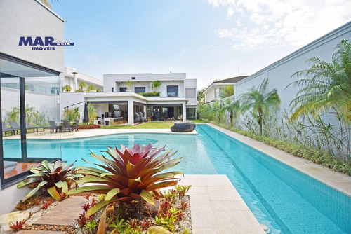 Casa Com 7 Dormitórios À Venda, 700 M² Por R$ 8.000.000,00 - Acapulco - Guarujá/sp - Ca0775