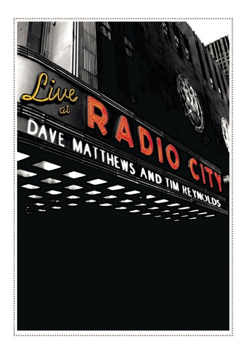 Dave Matthews Band Live At Radio City 2dvd Imp.new En Stock